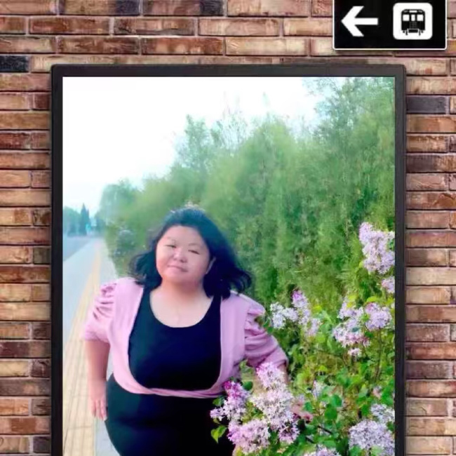 阳光胖拽妞儿照片
